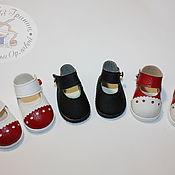 Одежда для кукол ручной работы. Ярмарка Мастеров - ручная работа Обувь для кукол - туфельки. Handmade.
