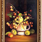 Картины и панно ручной работы. Ярмарка Мастеров - ручная работа Айва японская или хеномелес. Handmade.