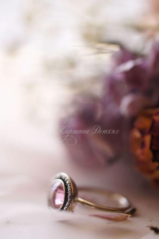 """Комплекты украшений ручной работы. Ярмарка Мастеров - ручная работа. Купить Комплект """"Розовый рассвет"""". Handmade. Розовый, серебро черненое"""
