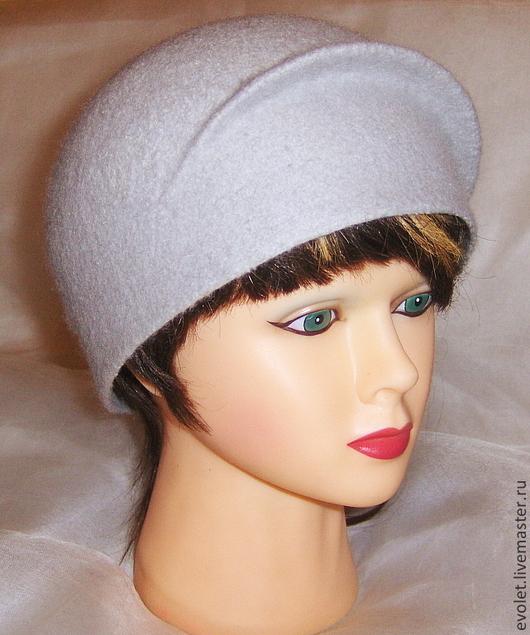 Элегантная шляпка из натуральной шерсти\r\nОксана Горбунова