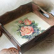 Для дома и интерьера handmade. Livemaster - original item Tray stand