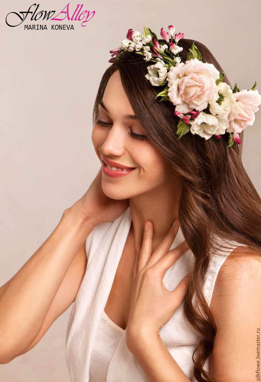 Шелковые цветы в волосы купить купить белорусские цветы в минске дешево