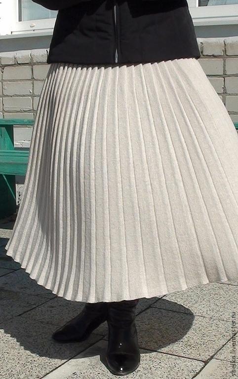 Юбки ручной работы. Ярмарка Мастеров - ручная работа. Купить Плиссированная юбочка-2. Handmade. Юбка, плиссированная юбка