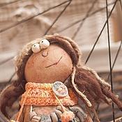 """Куклы и игрушки handmade. Livemaster - original item Primitive doll """"Apricot"""". Handmade."""