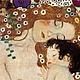 """Вышивка ручной работы. Ярмарка Мастеров - ручная работа. Купить Алмазная картина """"Три возраста женщины"""" Густав Климт. Мозаика из страз. Handmade."""