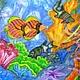 Животные ручной работы. В морских глубинах. Шелковая радуга Натальи Никифоровой. Ярмарка Мастеров. Море, подарок, подарок подруге