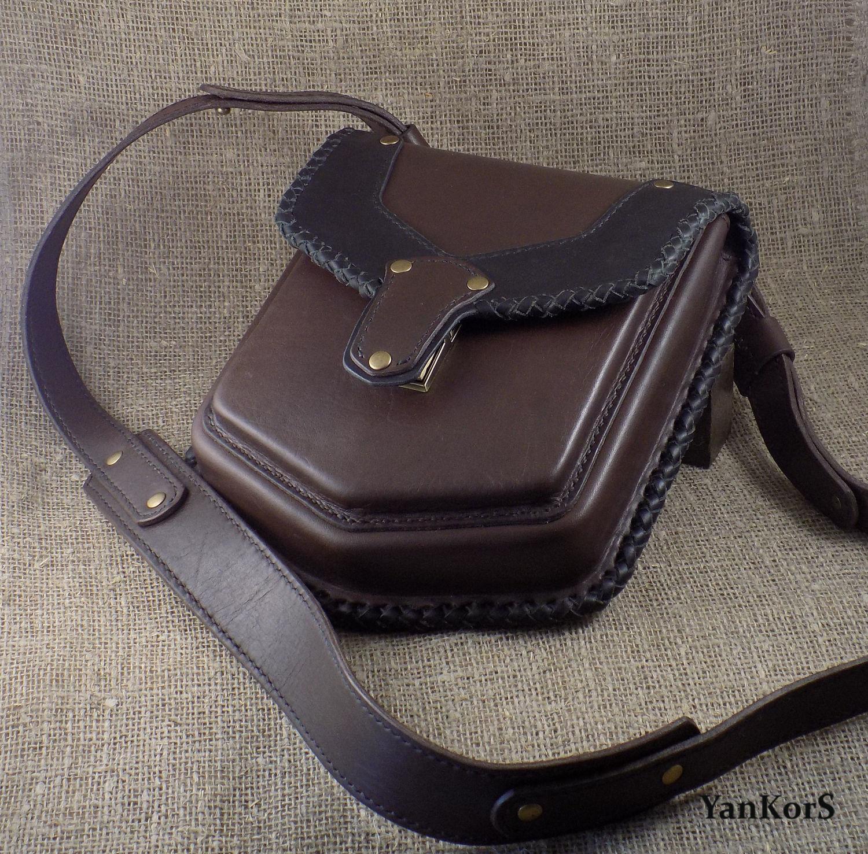 Hip and shoulder bag, Men\'s bag, Smolensk,  Фото №1
