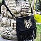 Женские сумки ручной работы. Сумка из натуральной кожи ( замши ) с бахромой. Maria. Ярмарка Мастеров. Сумка из замши