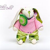 Куклы и игрушки ручной работы. Ярмарка Мастеров - ручная работа Тильда-зайчик в толстовочке. Handmade.