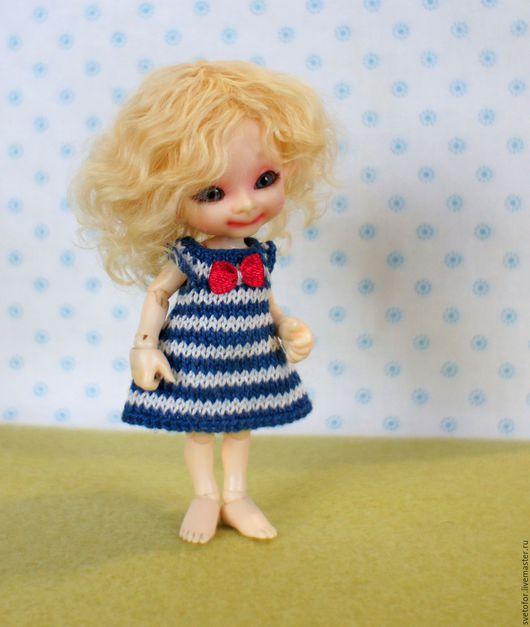 Одежда для кукол ручной работы. Ярмарка Мастеров - ручная работа. Купить Паричок для RealPuki девочки. Handmade. Желтый, волосы для кукол