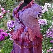 Одежда ручной работы. Ярмарка Мастеров - ручная работа Костюм бохо цвета флоксов. Handmade.