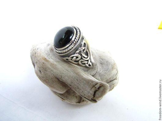 """Кольца ручной работы. Ярмарка Мастеров - ручная работа. Купить Перстень """"Друид"""". Handmade. Черный, кельтский узор, авторская работа"""