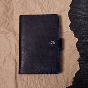 Канцелярские товары handmade. Livemaster - original item Cover for the diary notepad. Handmade.