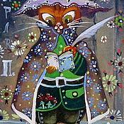 """Картины и панно ручной работы. Ярмарка Мастеров - ручная работа Миниатюра """"Сказки Шарля П."""". Handmade."""