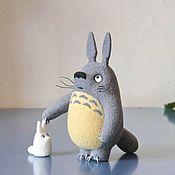 Куклы и игрушки ручной работы. Ярмарка Мастеров - ручная работа Тоторо. Handmade.
