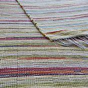 Для дома и интерьера ручной работы. Ярмарка Мастеров - ручная работа Половик ручного ткачества (№ 123). Handmade.