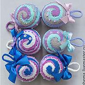 Подарки к праздникам ручной работы. Ярмарка Мастеров - ручная работа Рождественские шарики. Handmade.