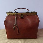 Сумки и аксессуары handmade. Livemaster - original item bag leather doctoral. Handmade.