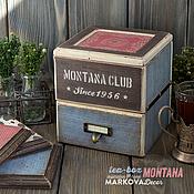 """Для дома и интерьера ручной работы. Ярмарка Мастеров - ручная работа Комплект """"Montana"""". Handmade."""