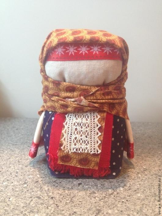 Народные куклы ручной работы. Ярмарка Мастеров - ручная работа. Купить Оберег на достаток в доме. Handmade. Кукла-оберег