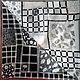 """Елена Узденикова\r\nШелковый платок """"Элегантность"""" из авторской коллекции """"Шанель""""\r\n9090 см,, шелк, холодный батик."""