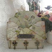 """Для дома и интерьера ручной работы. Ярмарка Мастеров - ручная работа Ключница  """"Marie Antoinette"""" 2 вида. Handmade."""