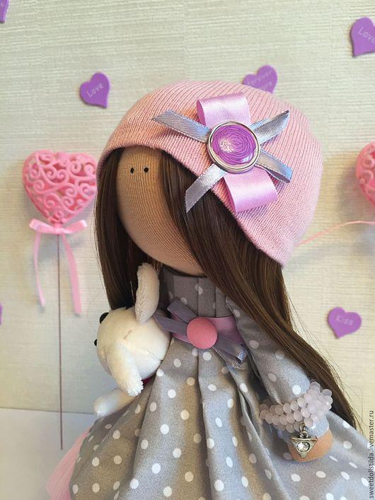 Коллекционные куклы ручной работы. Ярмарка Мастеров - ручная работа. Купить Аннэт. Handmade. Бледно-розовый, кукла текстильная, дети