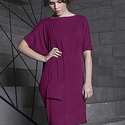 """Одежда ручной работы. Ярмарка Мастеров - ручная работа Платье """"Лучи пурпур"""". Handmade."""