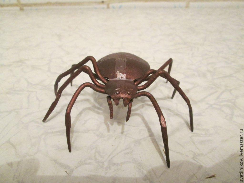 Как из железа сделать паука 716