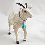 Для дома и интерьера handmade. Livemaster - original item Statuette Of A Goat. Handmade.