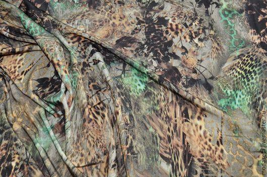 """Шитье ручной работы. Ярмарка Мастеров - ручная работа. Купить Трикотаж холодный """"Roberto Cavalli"""", Италия. Handmade. Ткани для шитья"""