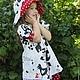 """Одежда для девочек, ручной работы. Платье """" Зоосад"""" + шляпка. ' Нежный возраст'. Ярмарка Мастеров. Шляпка"""