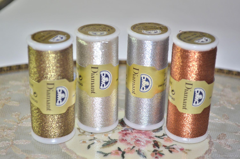 Металлизированные нитки для вышивки 848