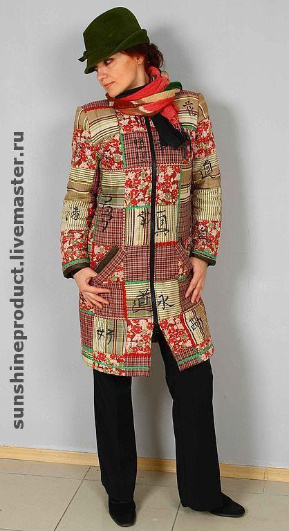 """Верхняя одежда ручной работы. Ярмарка Мастеров - ручная работа. Купить пальто """"Феншуй"""". Handmade. Демисезонное пальто, Дизайнерское пальто"""
