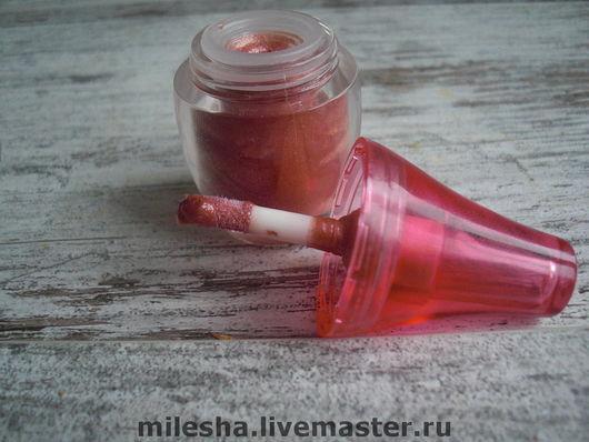 Декоративная косметика ручной работы. Ярмарка Мастеров - ручная работа. Купить Блеск для губ. Handmade. Блеск для губ, натуральный бальзам