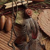 Украшения ручной работы. Ярмарка Мастеров - ручная работа Этнические кулоны и серьги. Handmade.