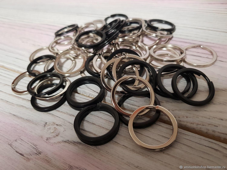Кольцо для ключей или брелоков, 25 мм