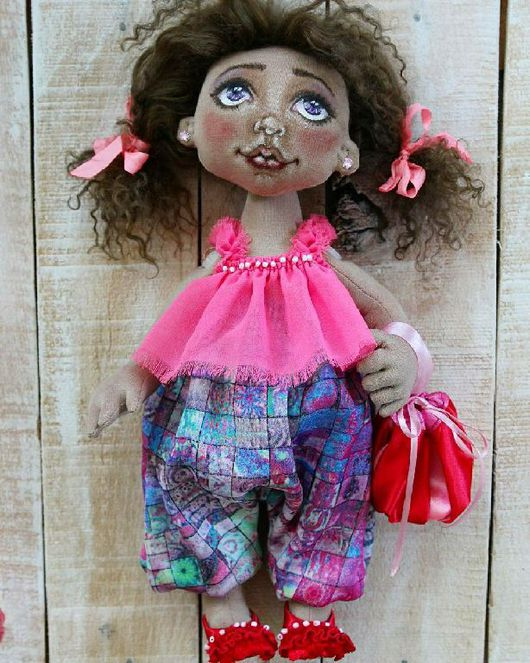 Коллекционные куклы ручной работы. Ярмарка Мастеров - ручная работа. Купить Малышка Ксю. Handmade. Кукла ручной работы, кукла