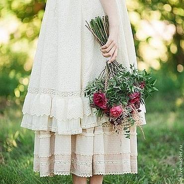 """Одежда ручной работы. Ярмарка Мастеров - ручная работа Платье в бохо-стиле """"Лунная принцесса"""". Handmade."""