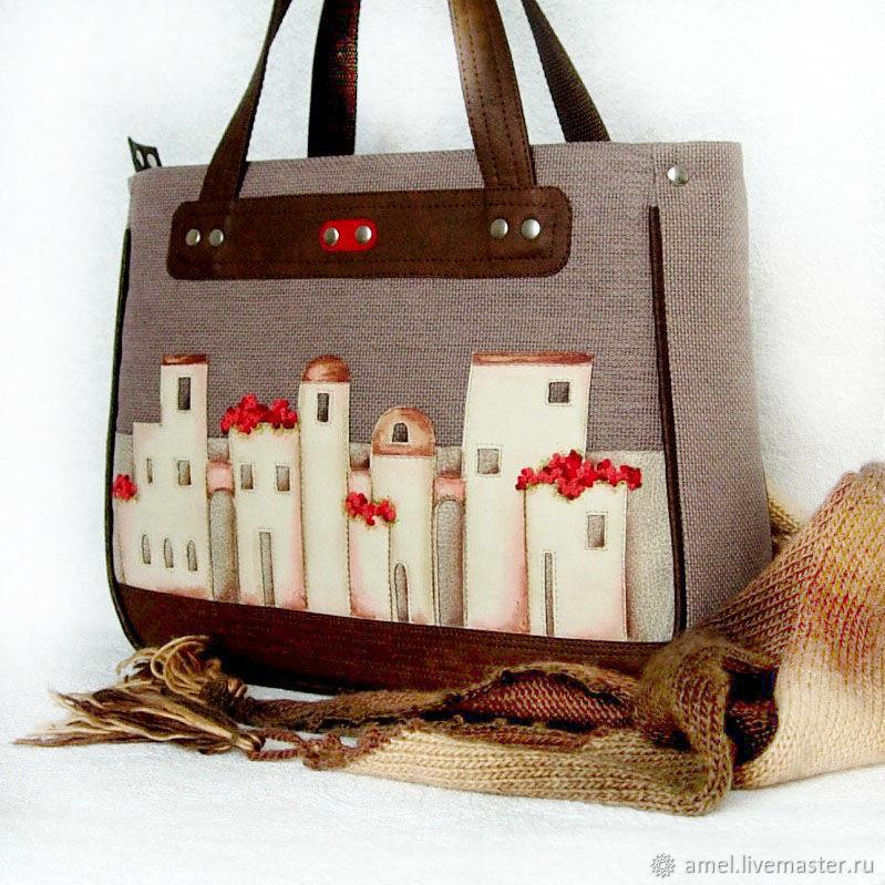 Bag 'Spanish courtyards', Classic Bag, Izhevsk,  Фото №1