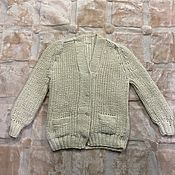 Одежда handmade. Livemaster - original item Knitted cardigan size 54. Handmade.