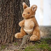 Куклы и игрушки ручной работы. Ярмарка Мастеров - ручная работа Мягкая игрушка кенгуру. Handmade.