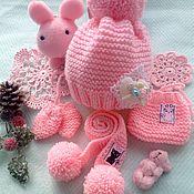 """Одежда для кукол ручной работы. Ярмарка Мастеров - ручная работа Комплект одежды для куклы """"Розовый зефир"""". Handmade."""