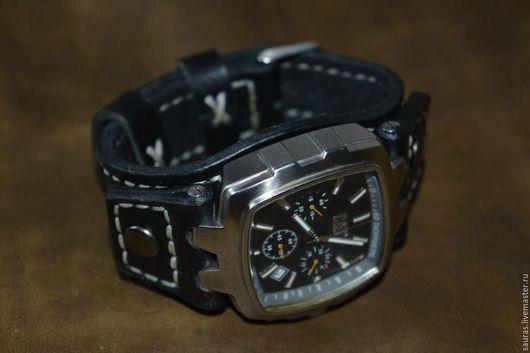 Часы ручной работы. Ярмарка Мастеров - ручная работа. Купить Браслет для часов. Толщина 3.5 мм. Ручная работа. Handmade.
