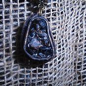 Фен-шуй и эзотерика ручной работы. Ярмарка Мастеров - ручная работа Черный гранат в коже. Handmade.