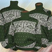 Одежда ручной работы. Ярмарка Мастеров - ручная работа Тату-свитера для семьи рыбаков. Handmade.