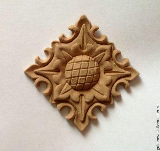 Аппликации, вставки, отделка ручной работы. Ярмарка Мастеров - ручная работа. Купить Декор N 18 (подсолнух). Handmade.