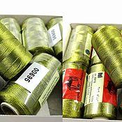 Материалы для творчества handmade. Livemaster - original item Thread: Doli threads for brushes and embroidery (3061). Handmade.