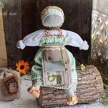 """Куклы и игрушки ручной работы. Ярмарка Мастеров - ручная работа Кукла для сна """"Луговые травы и ромашка"""".. Handmade."""