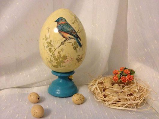 Подарки на Пасху ручной работы. Ярмарка Мастеров - ручная работа. Купить Пасхальное яйцо. Handmade. Пасха, деревянная заготовка